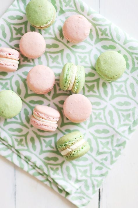 Pastel Macarons Simple Easter