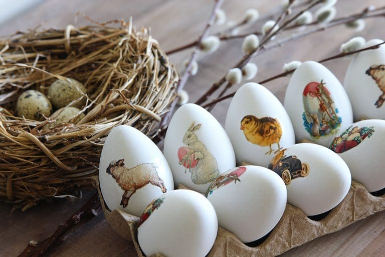 Vintage DIY Easter Eggs