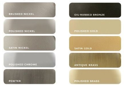 Metal Finishes by sheholdsdearly.com