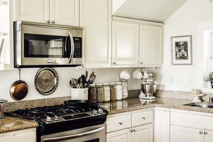 Before and After Farmhouse Kitchen Remodel by sheholdsdearly.com