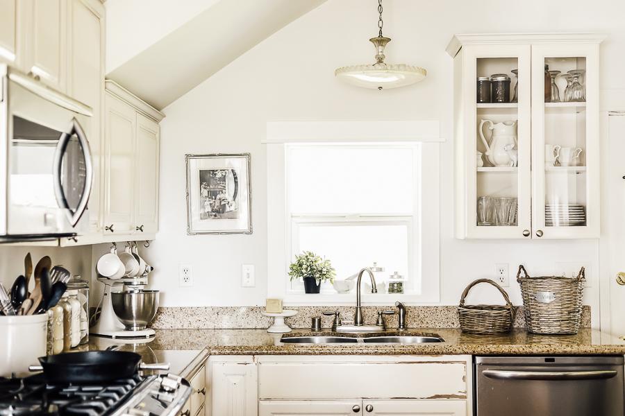 Fixer Upper Kitchen by sheholdsdearly.com