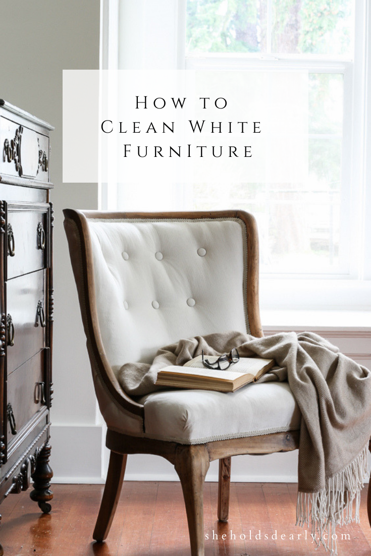 How to Clean White Upholstered Furniture