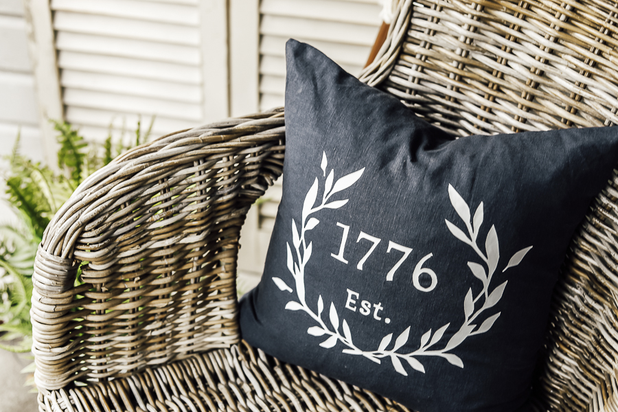 America 1776 Pillow by sheholdsdearly.com