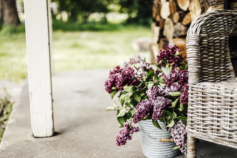 Make a Beautiful Lilac Bouquet by sheholdsdearly.com