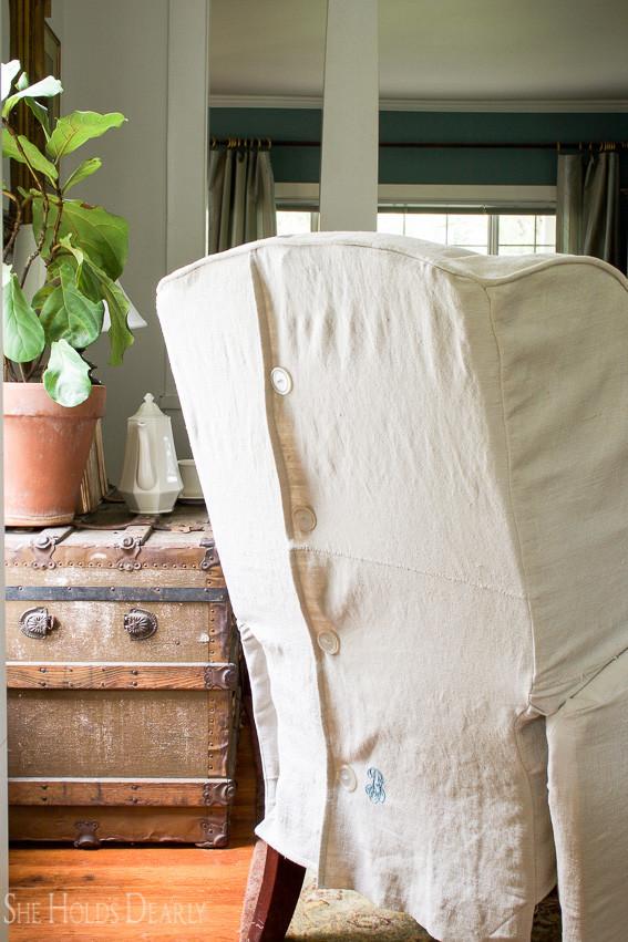Slipcover Upholstery Series by sheholdsdearly.com