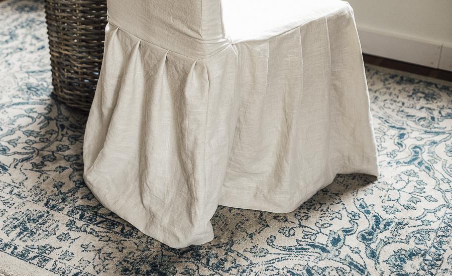 DIY Slipcover Tutorial by sheholdsdearly.com