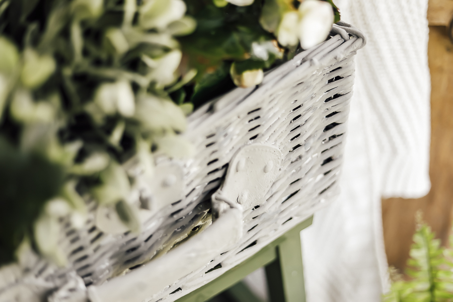Cement Garden Baskets by sheholdsdearly.com