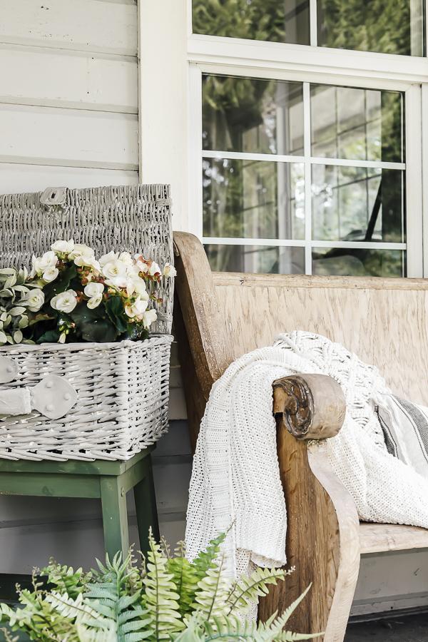 Concrete Garden Baskets by sheholdsdearly.com
