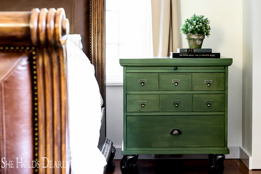 Faux Card Catalog Cabinet by sheholdsdearly.com