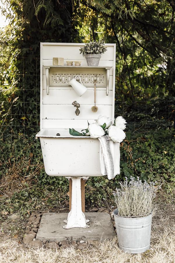 Garden Sink by sheholdsdearly.com