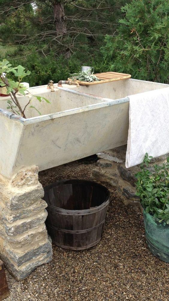Garden Sink Inspiration