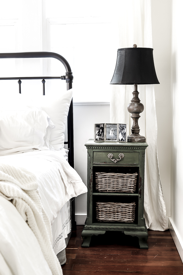 How to Mix and Match Bedside Tables by sheholdsdearly.com