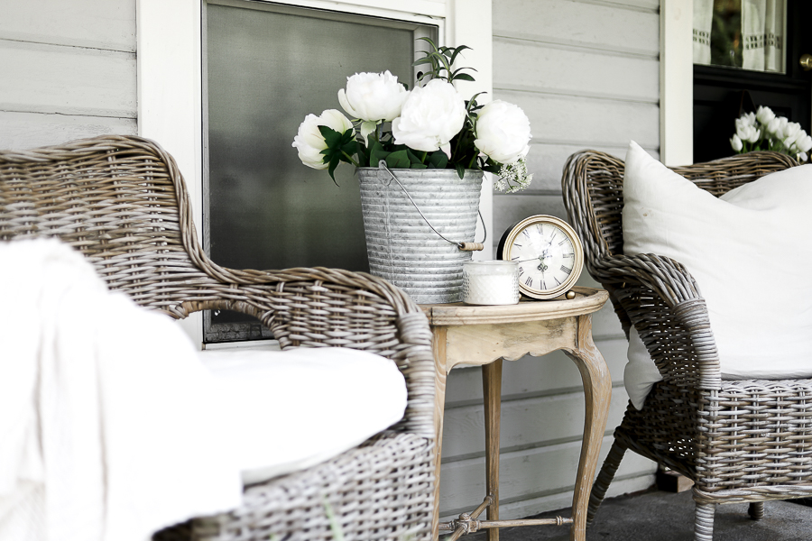 How to Update an Old Porch by sheholdsdearly.com