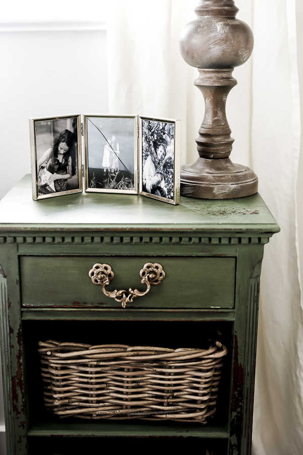 Milk Paint Nightstands by sheholdsdearly.com