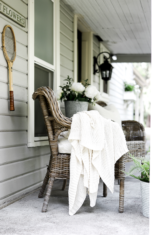 Porch Refresh Ideas by sheholdsdearly.com