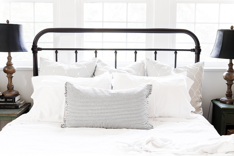 Styling Bed Pillows by sheholdsdearly.com