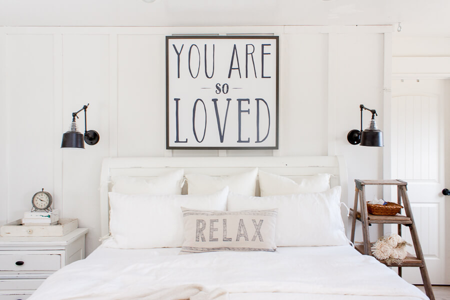 White Bedding by Twelve on Main
