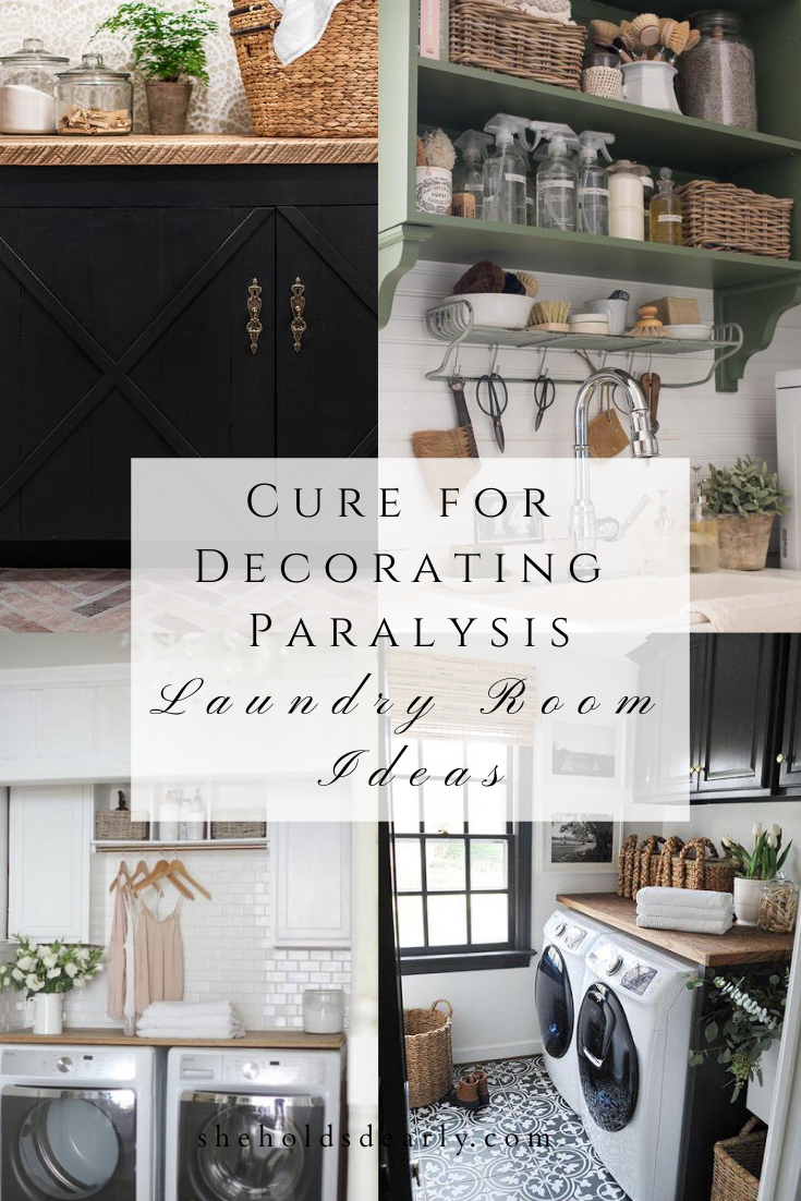 Cure for Decorating Paralysis by sheholdsdearly.com