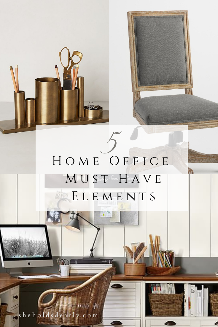Home Office Must Haves by Sheholdsdearly.com
