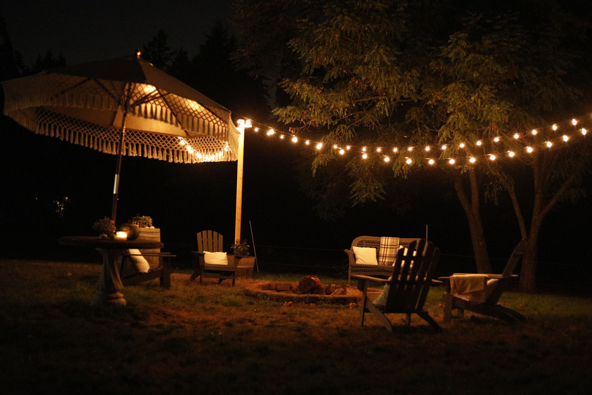 5 Quick Refresh Ideas For Patio Or Fire Pit She Holds Dearly