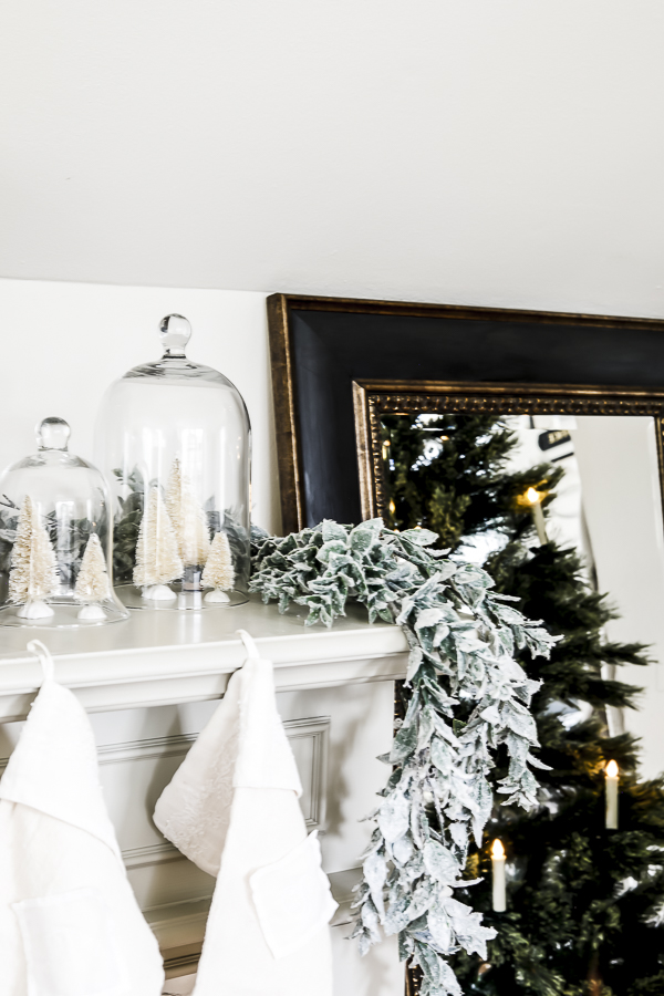 Christmas Farmhouse Bedroom Tour by sheholdsdearly.com