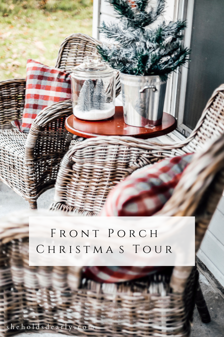 Front Porch Christmas Tour by sheholdsdearly.com