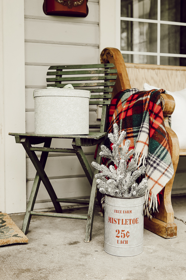 Holiday Front Porch Farmhouse Home Tour by sheholdsdearly.com
