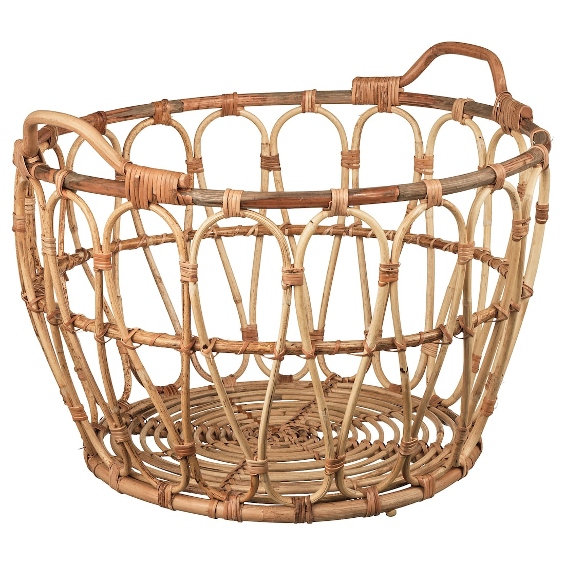 Snidad Basket Rattan from IKEA - sheholdsdearly.com
