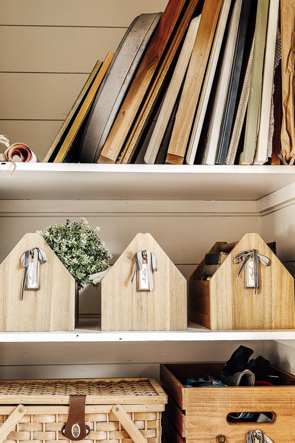 Storage Ideas for Home Decor by sheholdsdearly.com