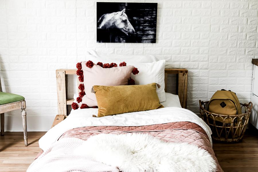 Bohemian Teen Bedroom Reveal