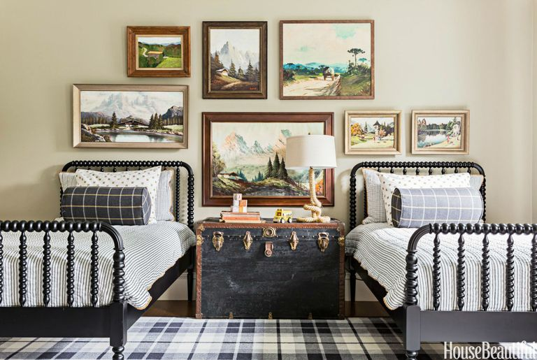 Vintage Inspired Kids Rooms Decorating Ideas